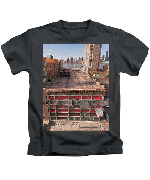 9th Floor Forms Kids T-Shirt