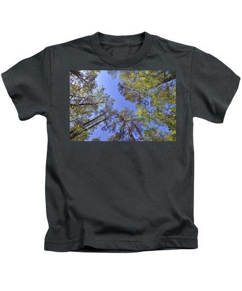 A Forest Sky Kids T-Shirt