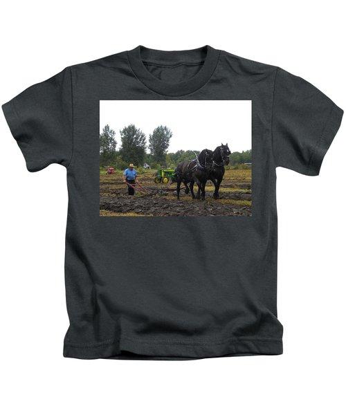 A Hard Days Work Kids T-Shirt