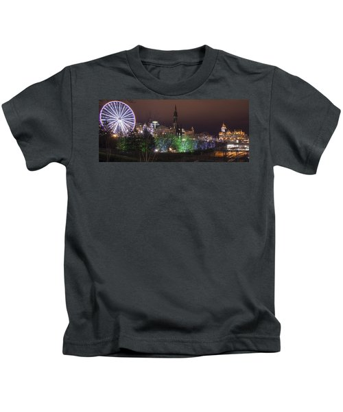 A Princes Street Gardens Christmas Kids T-Shirt
