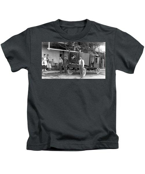 A Truck Camera Kids T-Shirt