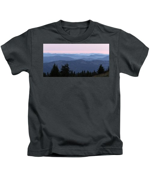 A View From Timberline Kids T-Shirt