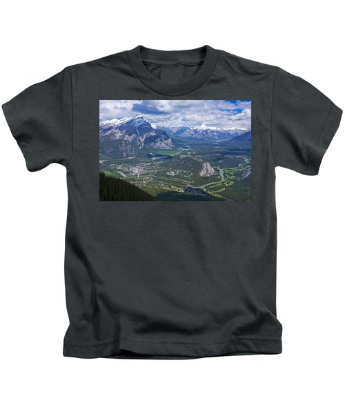 Above Banff Kids T-Shirt