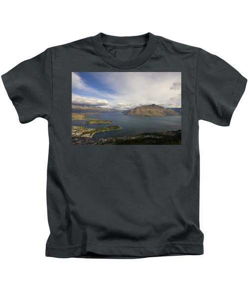 Above Queenstown #2 Kids T-Shirt