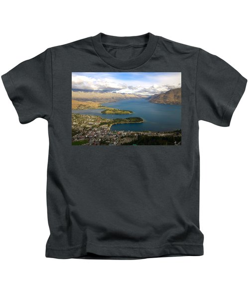 Above Queenstown Kids T-Shirt