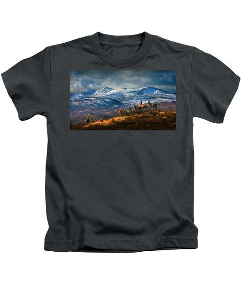 Above Strathglass Kids T-Shirt