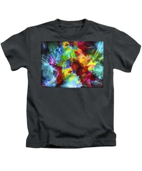 Abstract Artwork A9 Kids T-Shirt