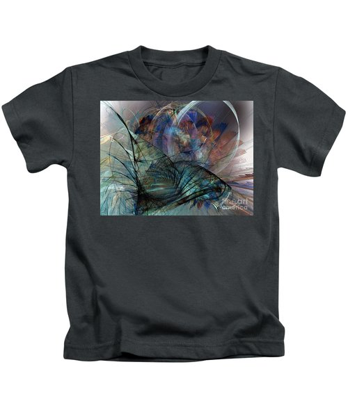 Abstract Art Print In The Mood Kids T-Shirt