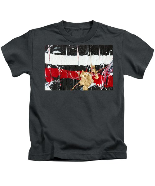Abstract Original Painting Number Five Kids T-Shirt