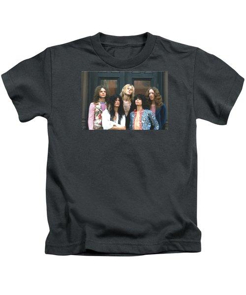 Aerosmith - Boston 1973 Kids T-Shirt by Epic Rights