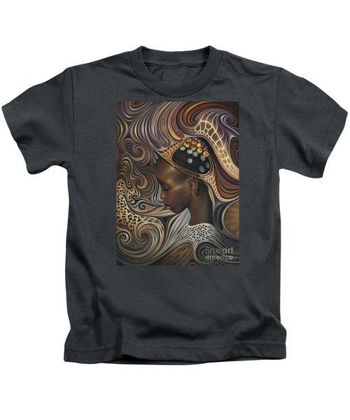 African Spirits II Kids T-Shirt