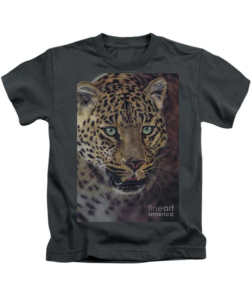 After Dark All Cats Are Leopards Kids T-Shirt