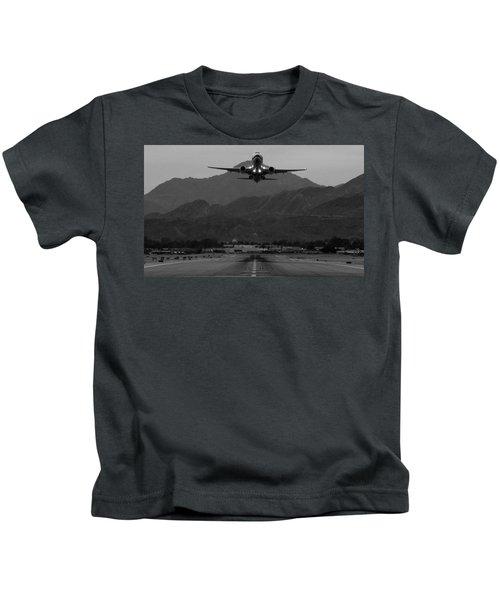 Alaska Airlines Palm Springs Takeoff Kids T-Shirt