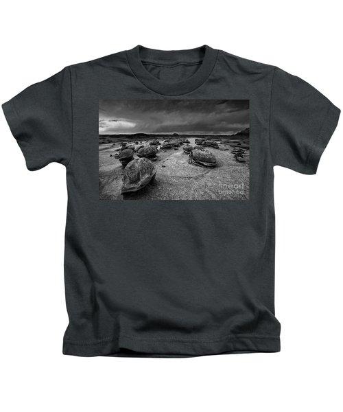 Alien Eggs At The Bisti Badlands Kids T-Shirt