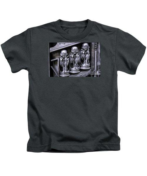Alien Elton Kids T-Shirt by Timothy Hacker