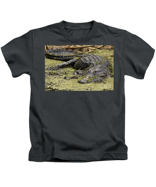 American Alligator Smile Kids T-Shirt