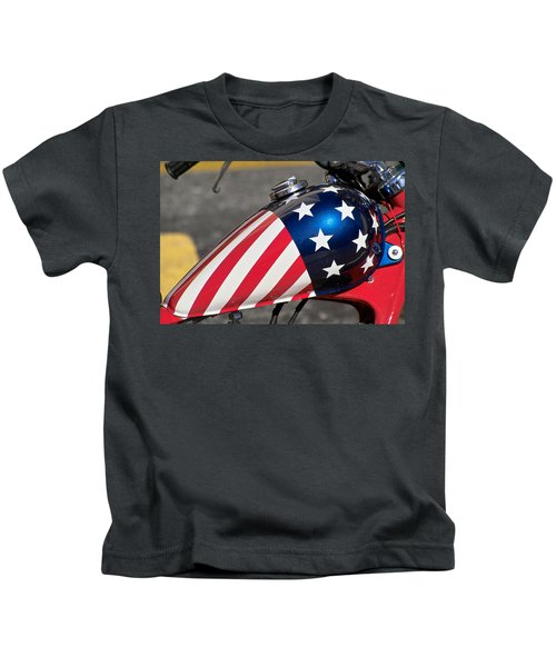 American Motorcycle Kids T-Shirt