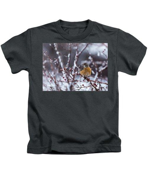 American Robin Kids T-Shirt