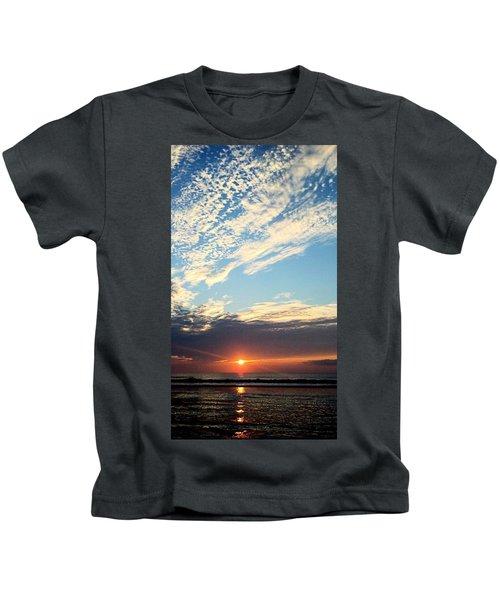 An Ocean And A Sunrise Kids T-Shirt