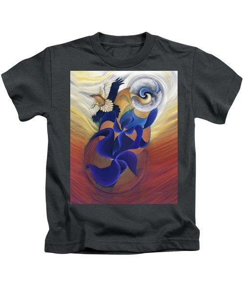 Ancient Raven Reborn Kids T-Shirt
