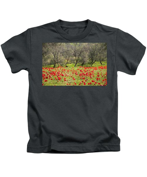 At Ruchama Forest Israel Kids T-Shirt