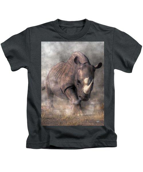 Angry Rhino Kids T-Shirt