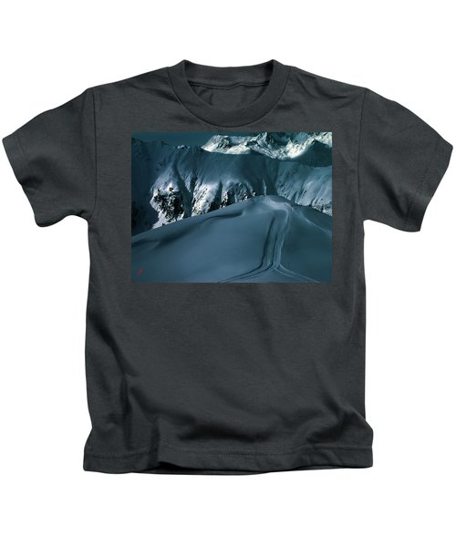 Kids T-Shirt featuring the photograph Another Late Day In The Mountains  by Colette V Hera  Guggenheim