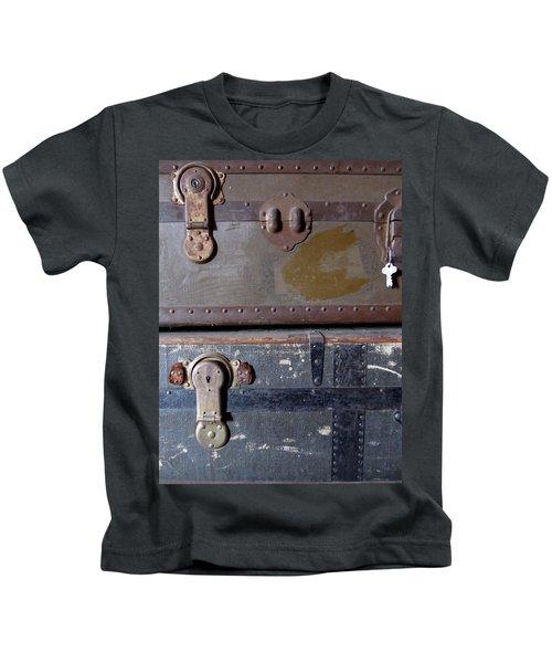 Antique Trunks 5 Kids T-Shirt