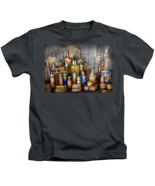 Apothecary - For All Your Aches And Pains  Kids T-Shirt