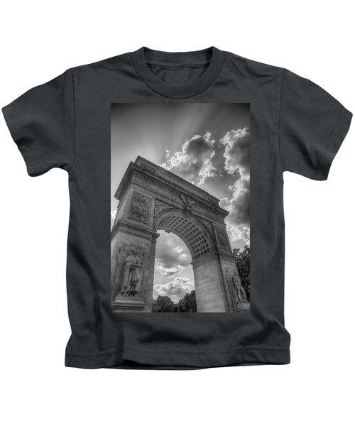 Arch At Washington Square Kids T-Shirt