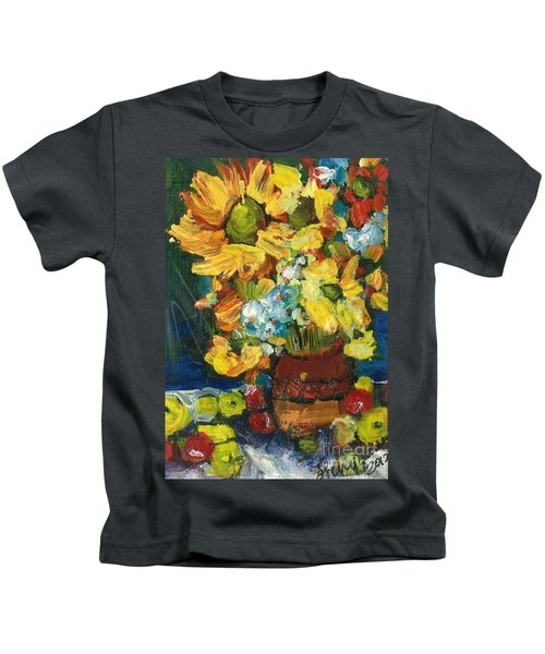 Arizona Sunflowers Kids T-Shirt