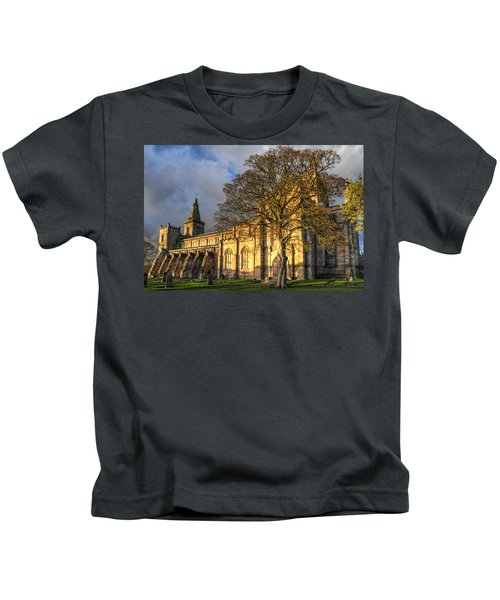 Autumn At Dunfermline Abbey Kids T-Shirt