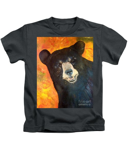 Autumn Bear Kids T-Shirt