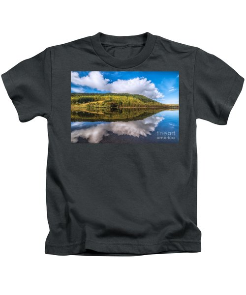 Autumn Clouds Kids T-Shirt