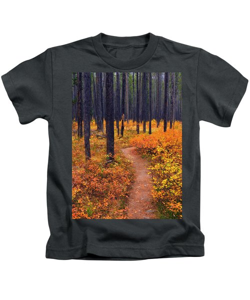 Autumn In Yellowstone Kids T-Shirt