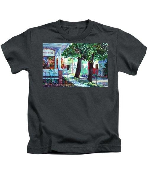 Autumn On East Main Kids T-Shirt