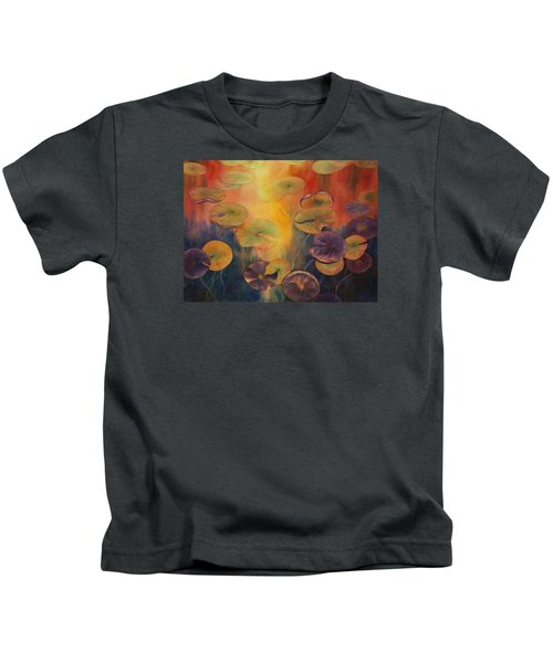 Autumn On Winslow Lake Kids T-Shirt