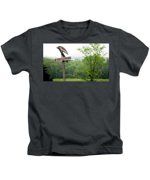 B-ball History Kids T-Shirt
