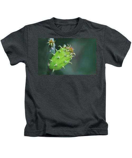 Baby Cactus - Macro Photography By Sharon Cummings Kids T-Shirt