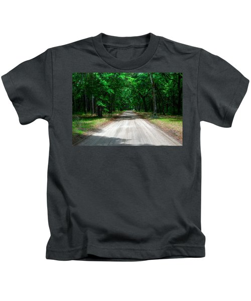 Back Roads Of South Carolina Kids T-Shirt
