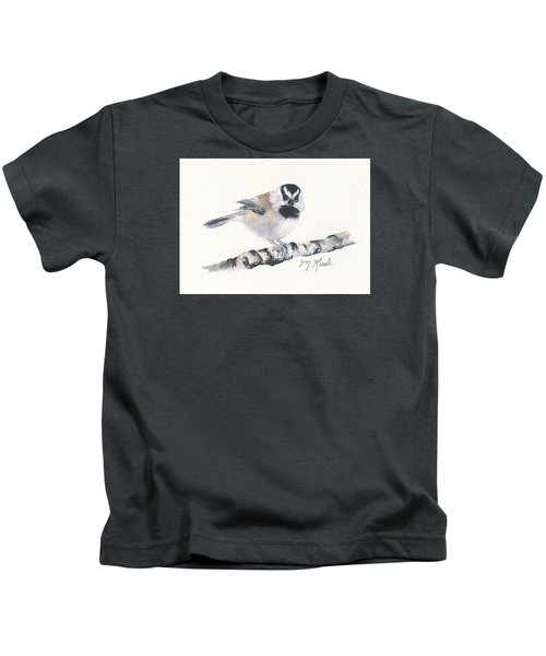 Backyard Busybody - Mountain Chickadee Kids T-Shirt