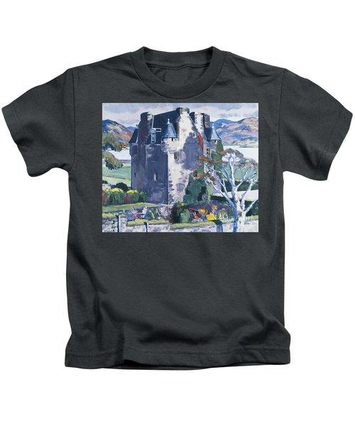 Barcaldine Castle Kids T-Shirt