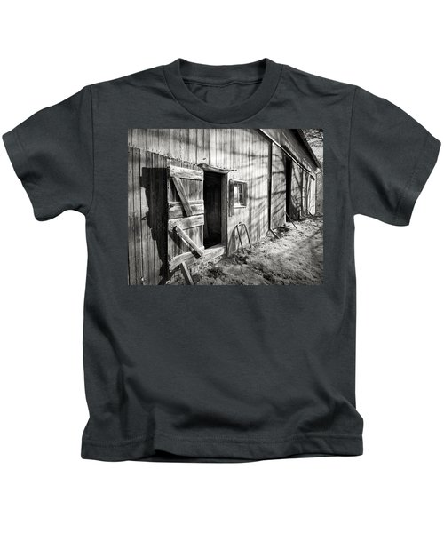 Barn Doors Kids T-Shirt