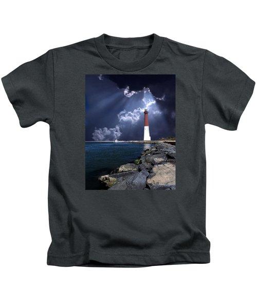 Barnegat Inlet Lighthouse Nj Kids T-Shirt