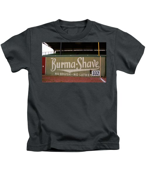 Baseball Field Burma Shave Sign Kids T-Shirt