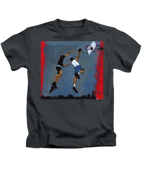 Basketball Players Kids T-Shirt