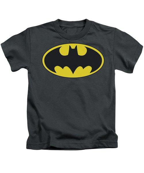 Batman - Classic Bat Logo Kids T-Shirt