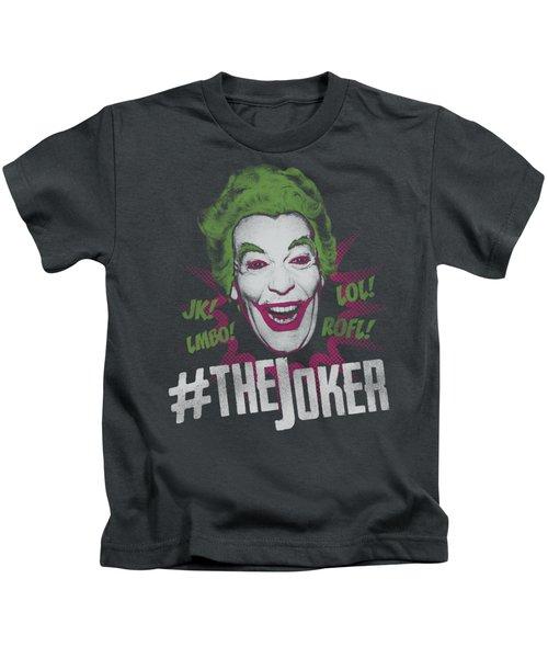 Batman Classic Tv - #joker Kids T-Shirt