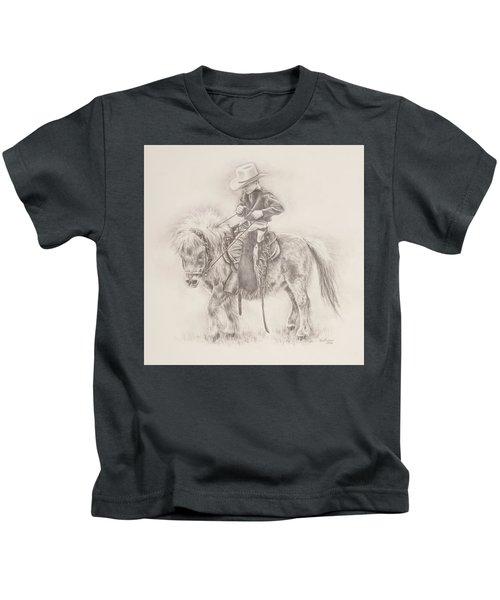 Battle Of Wills Kids T-Shirt