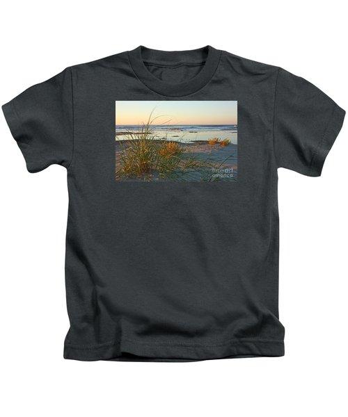 Beach Morning Kids T-Shirt